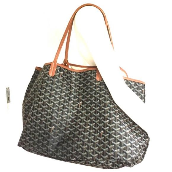 Goyard Bags   Large Saint Louis Tote Preloved   Poshmark 45210cf989c